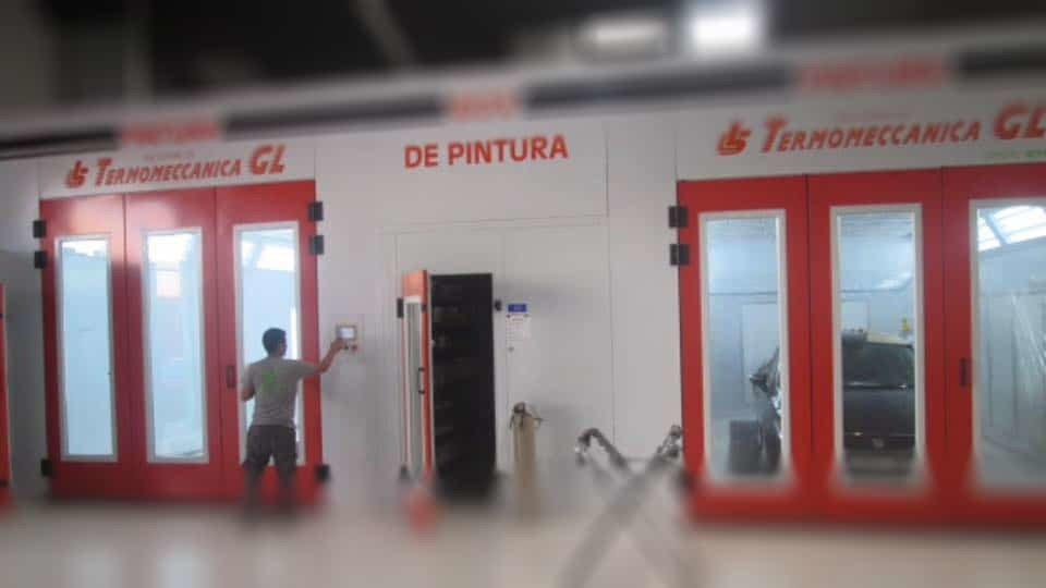 taller de chapa y pintura Málaga